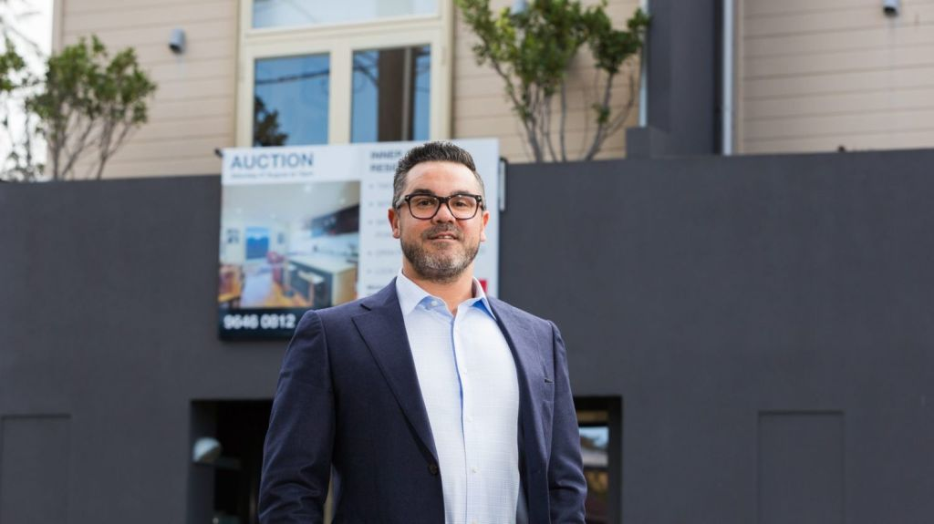 Anthony D'Alessandro hopes to buy an investment property. Photo: Greg Briggs