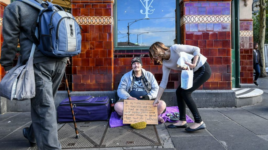The number of people accessing homelessness services continues to grow. Photo: Justin McManus