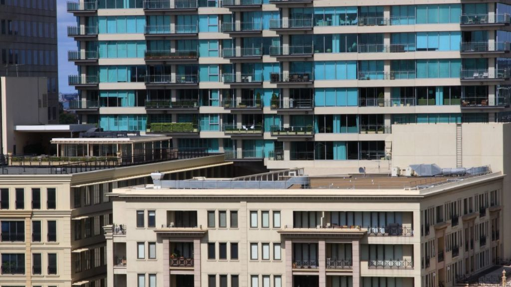 Data from people living in Melbourne apartments will be used in the study. Photo: iStock
