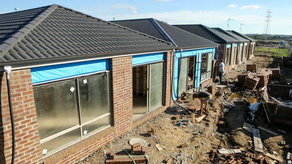 Building a new home brings new risks under a payment scheme recently introduced by the banks. Photo: Pat Scala
