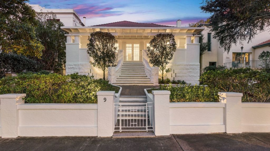 9 Robertson Road is for sale in Centennial Park for the first time since the 1940s. Photo: Supplied