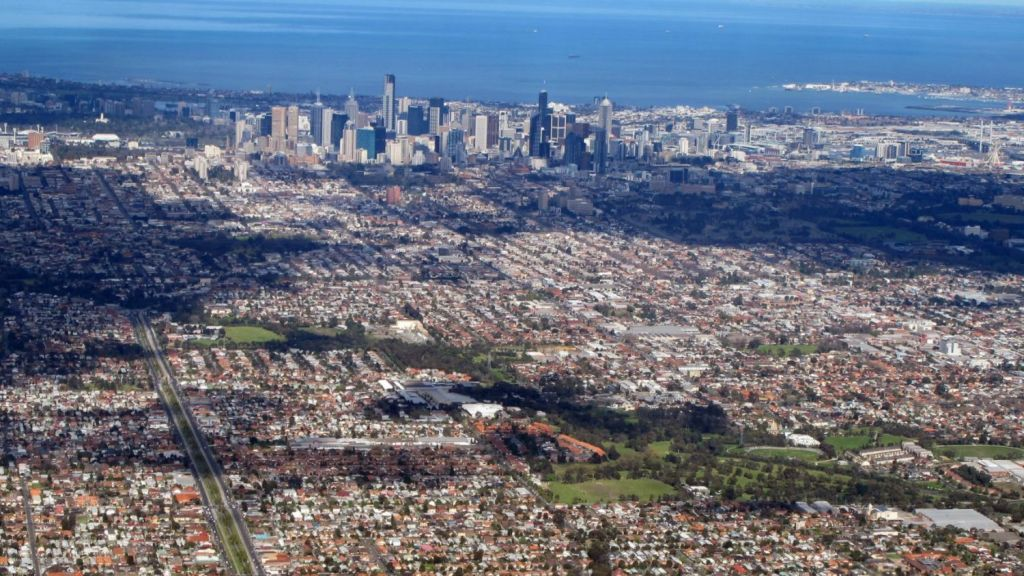 Melbourne was by far the most popular Australian city for overseas investment in off-the-plan construction, according to the report. Photo: Ross Duncan