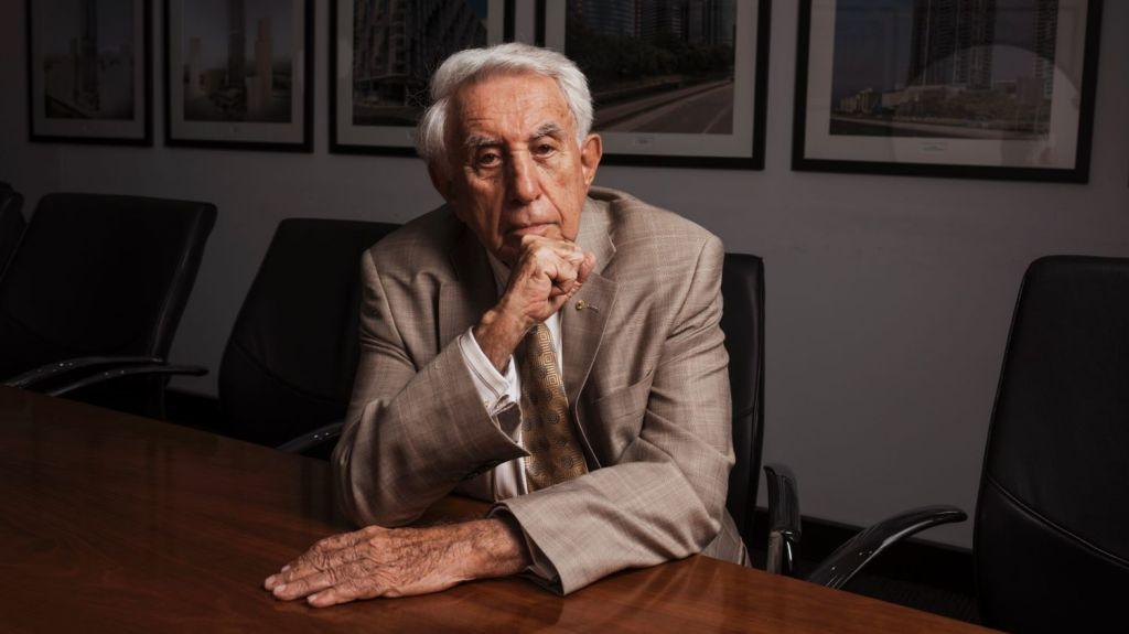 Billionaire real estate developer Harry Triguboff wasn't always a property pro. Photo: James Brickwood