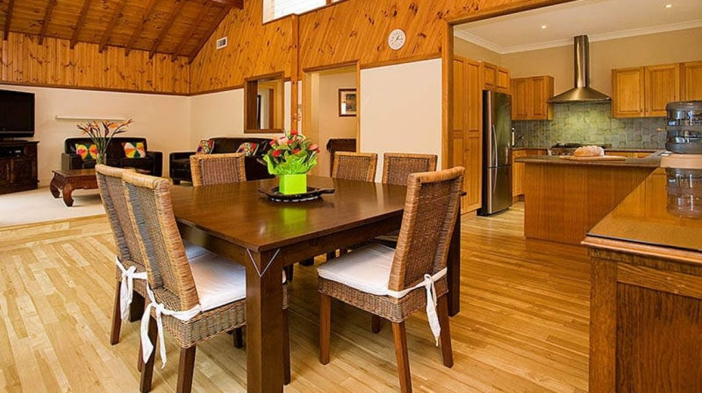 The three-bedroom house in Port Hacking.