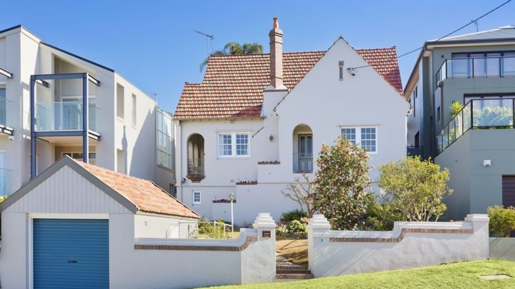 An inter-war home in Greenwich was the weekend's most expensive sale. Photo: Domain.com.au