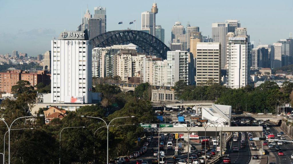 Sydney is witnessing the most prolific road, rail and airport building program the country has ever seen. Photo: James Brickwood