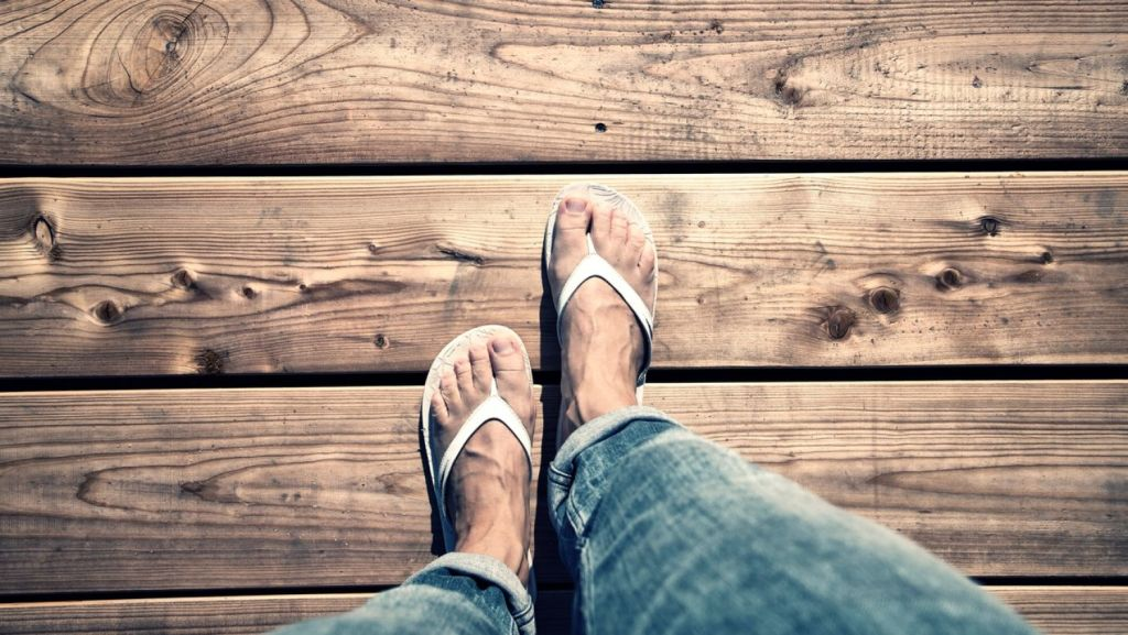 Turning up to an invitation in thongs is a no-no ... overseas. Photo: iStock