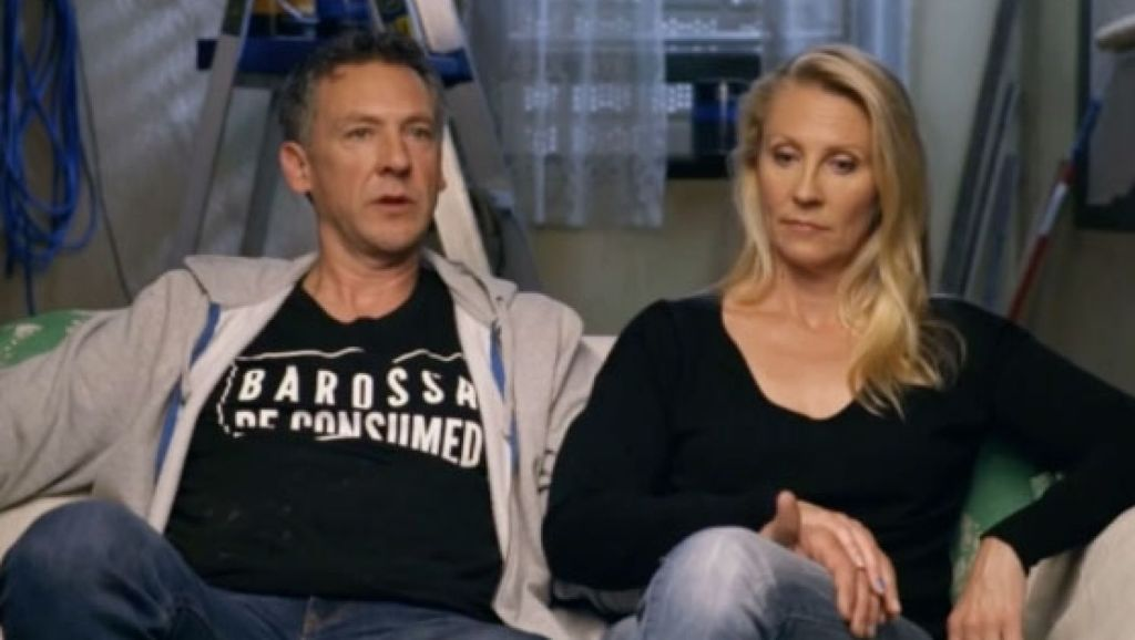 Contestants Kerrie and Spence had a difficult time this week. Photo: Channel Nine