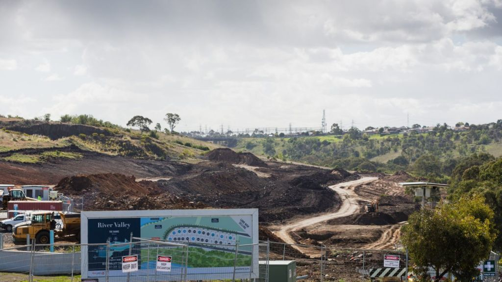 New lots are being released at River Valley Estate in Sunshine North. Photo: Greg Briggs