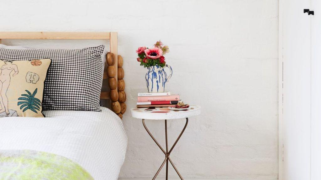 The master bedroom. Photo: Caitlin Mills