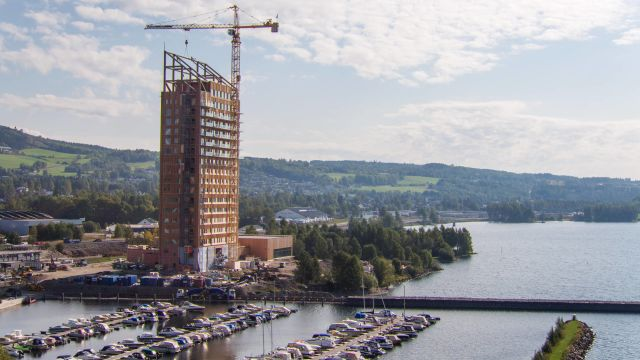 Take a look at the world's tallest building made of wood