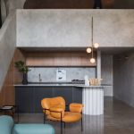 An apartment transformed into a concrete bunker