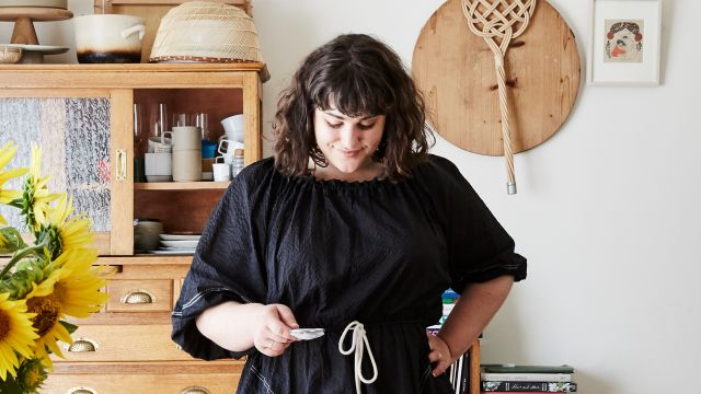 Working from home with author and cook Julia Busuttil Nishimura