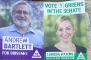 'Trying to protect the home': Anger as agents remove political posters