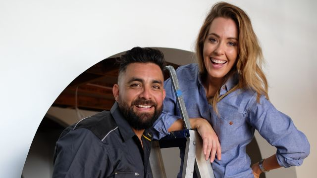 The simple hack Georgia and Ronnie use to begin any home makeover