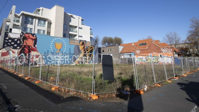 Mystery: Two years on, this former hotel site is still barren. Why?