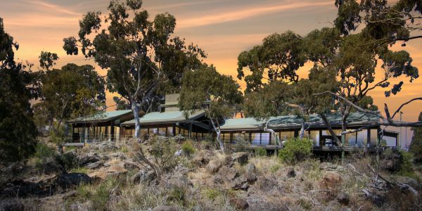 A private bush retreat just an hour's drive from Canberra