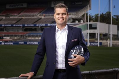 Greg Cusack: The real estate director who is a Carlton footy fanatic and loves being on the tools