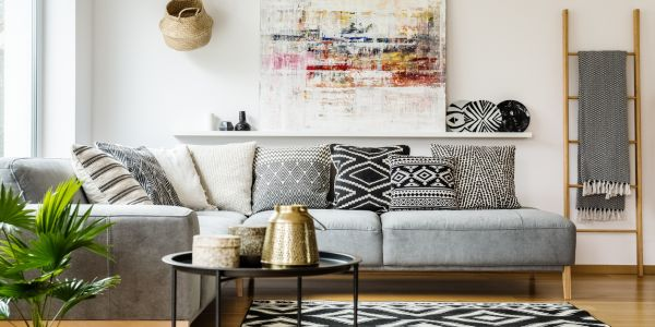 Period Contrast And Pink Marble These Will Be The Top Living Room Trends Of 2019