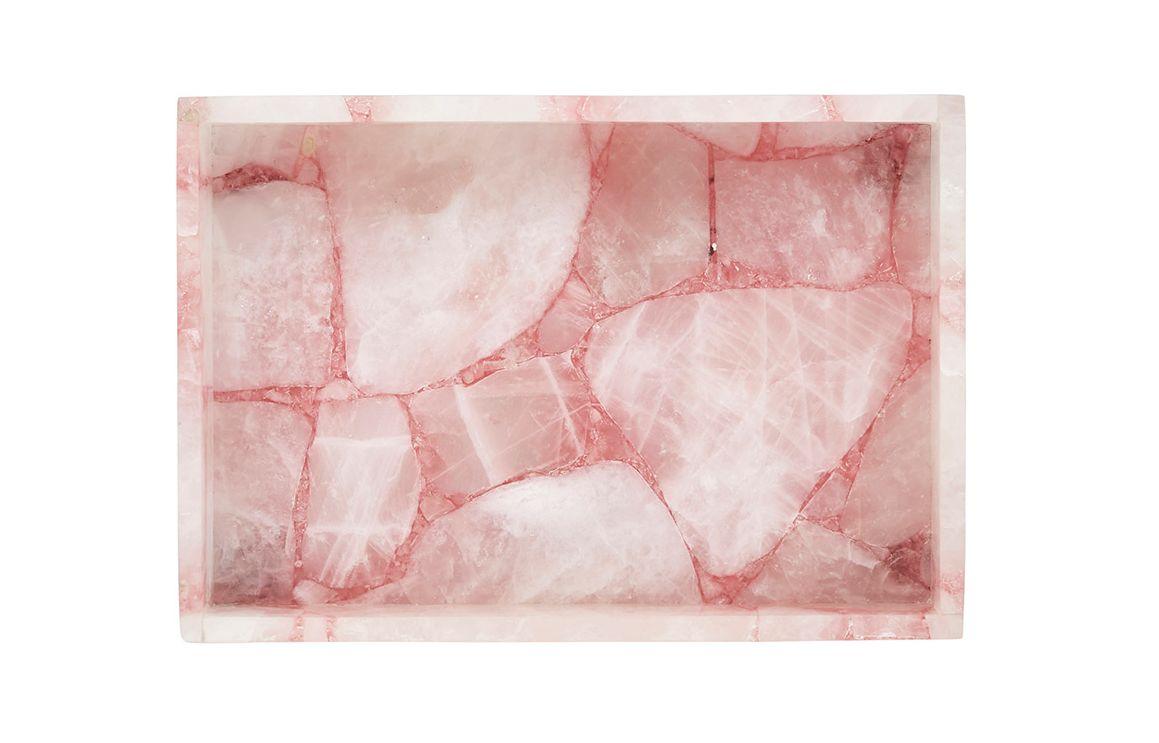 Fenton & Fenton's rose quartz stone tray