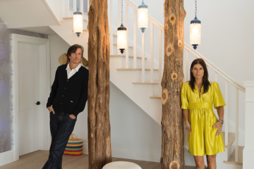 Seven children and two TV shows: The design couple taking the world by storm