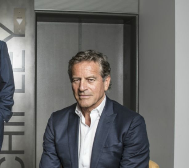 Mark Bouris Executive Chairman of Yellow Brick Road , in Sydney on August 17, 2017. Photo: Jessica Hromas.