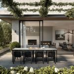 The park-side project exemplifying the luxury downsizing trend