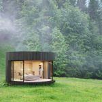 Forget the tent, try the great outdoors in this eye-catching cabin