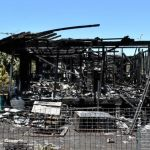 Site of Ipswich house fire up for auction