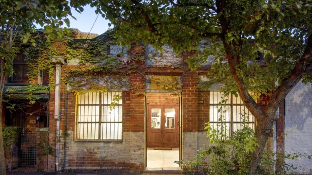 From scout hall to button factory, now this inner-city gem's a home