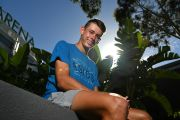 Top-ranked tennis star Alex de Minaur is ready for his grand slam shot