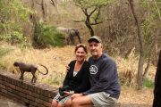 'It's opened my eyes': The Australian couple living on an African game reserve