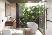 The key factors that go into designing a luxurious modern bathroom