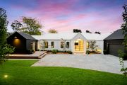 On the market: Burradoo pavilion-style home a modern classic in black and white