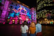 The buildings with the best light displays during Vivid