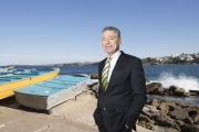 The successful Sydney agent with a rags-to-riches backstory