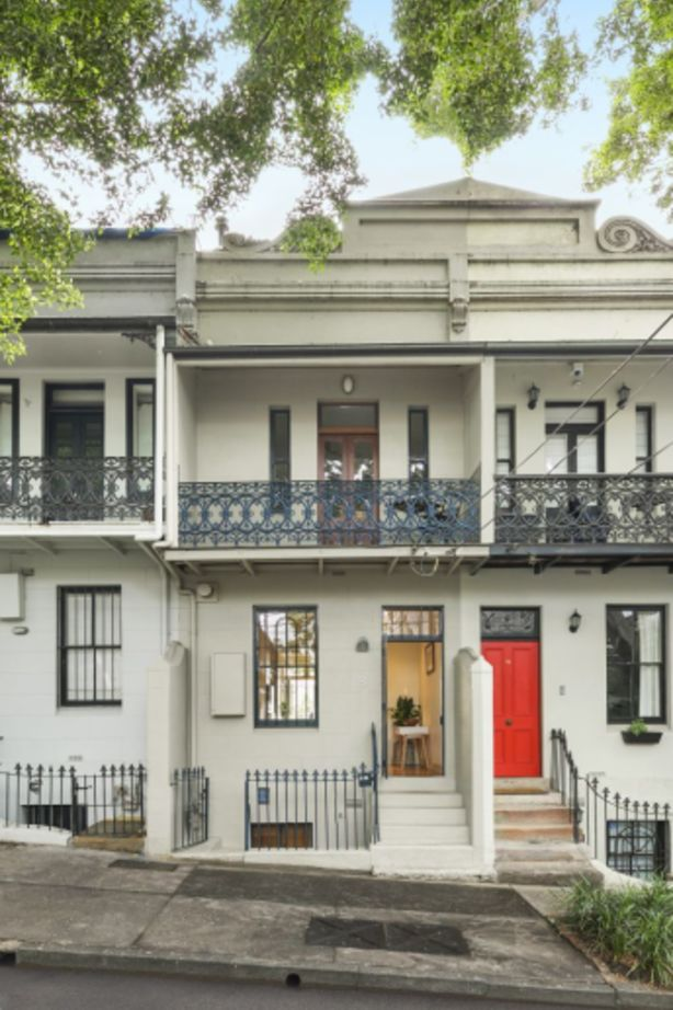 The Paddington terrace sold before auction after competition from two buyers.