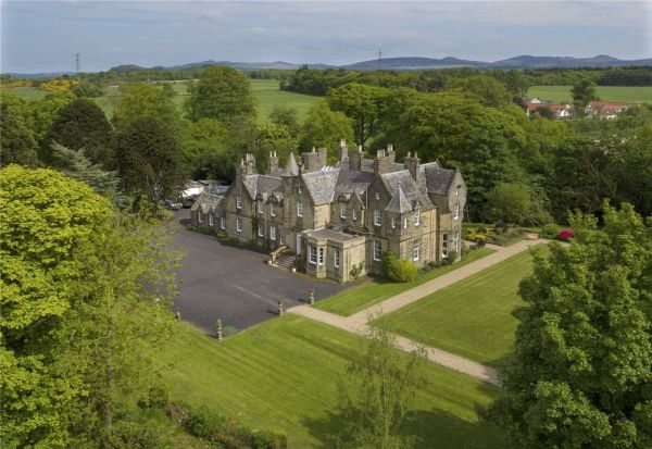 Great Scot The Dramatic Country Estate Near Edinburgh You Can For Just Over 3m