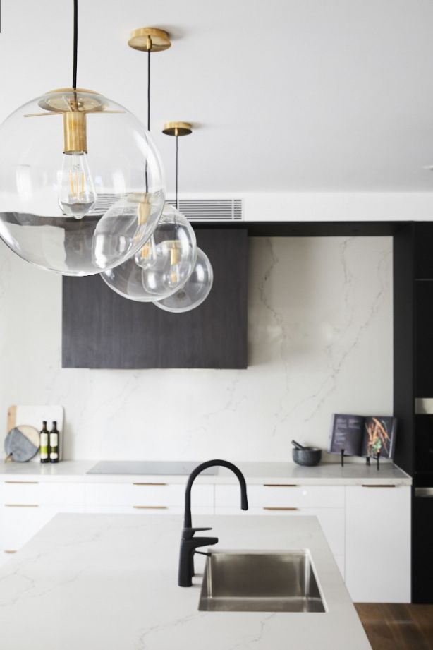 The judges loved how the structural range hood. Photo: Channel Nine