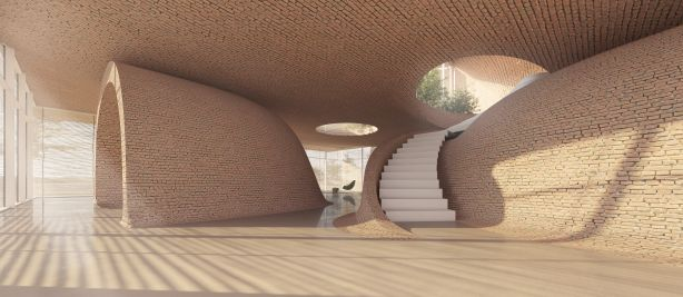 Guyim Vault House in Iran by Next Office NOT FOR REUSE