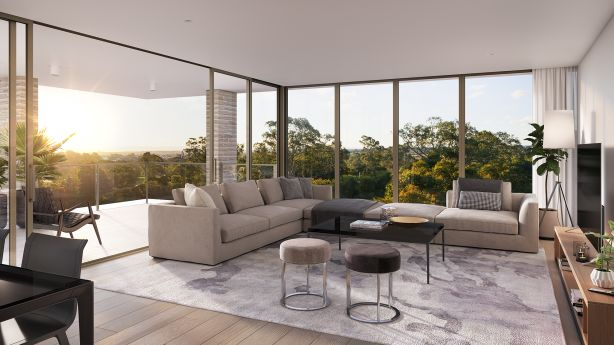 The Orchards is a new luxury apartment development in Baulkham Hills.