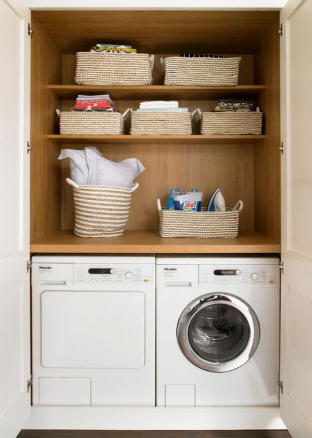 Cupboard laundry/European Laundry