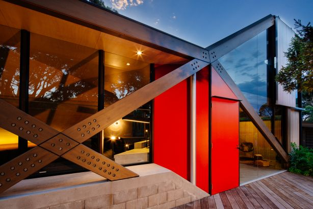 Blairgowrie house by Maddison Architects. Photo: Will Watt.