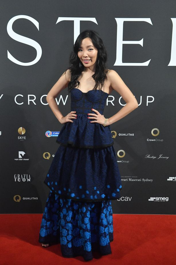Dami Im at a Sydney event celebrating Mastery by Crown Group