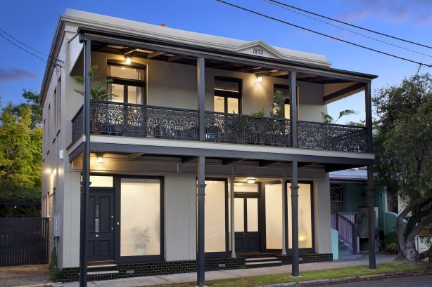 153 Young Street, Annandale, a renovated four-bedroom terrace, fetched $3.36 million.
