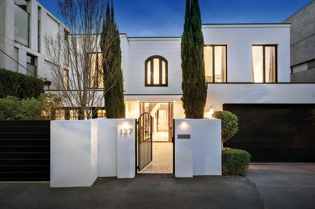 127 Canterbury Road, Toorak. Marshall White.