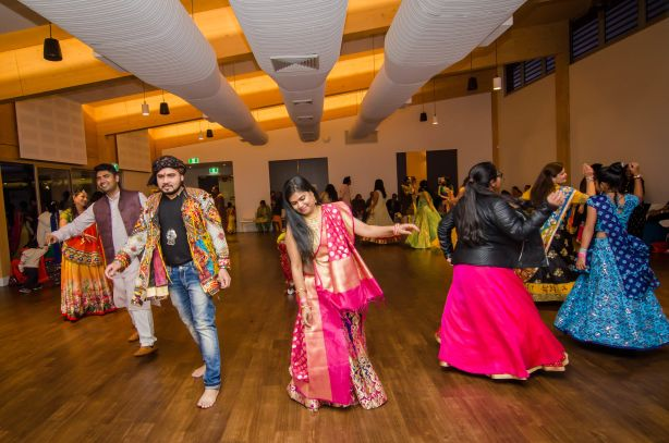 Jordan Springs residents held Navratri celebrations recently.
