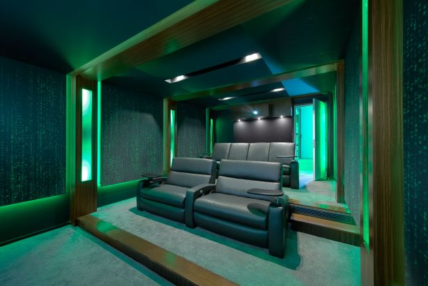 Home cinema project by Wavetrain Cinema NOT FOR REUSE