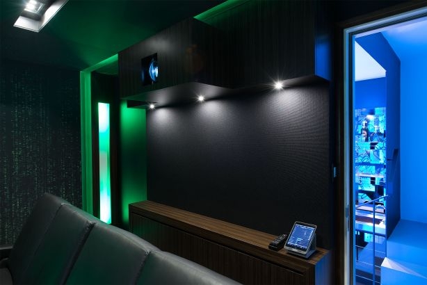 Home cinema project by Wavetrain Cinemas NOT FOR REUSE