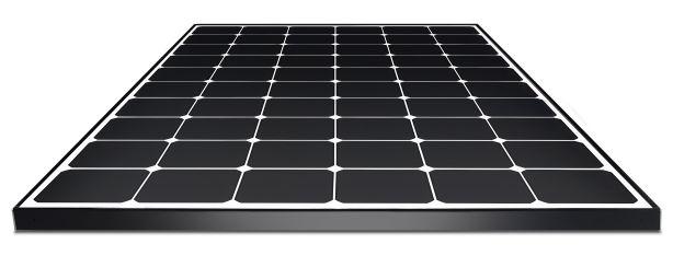 The LG NeON R solar panel.